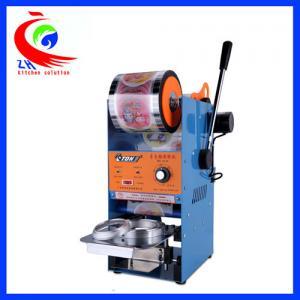 China Semi Automatic Sealer Coffee Shop Equipment Plastic Bag Sealing Machine on sale