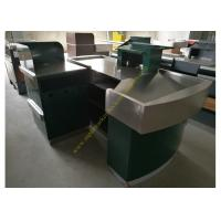Quality Stainless Steel Supermarket Checkout Counter for sale