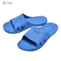 Quality Cleanroom Anti static unisex gender anti slip ESD spu sandal slippers for food factory for sale