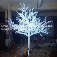 Quality led crystal tree light for sale