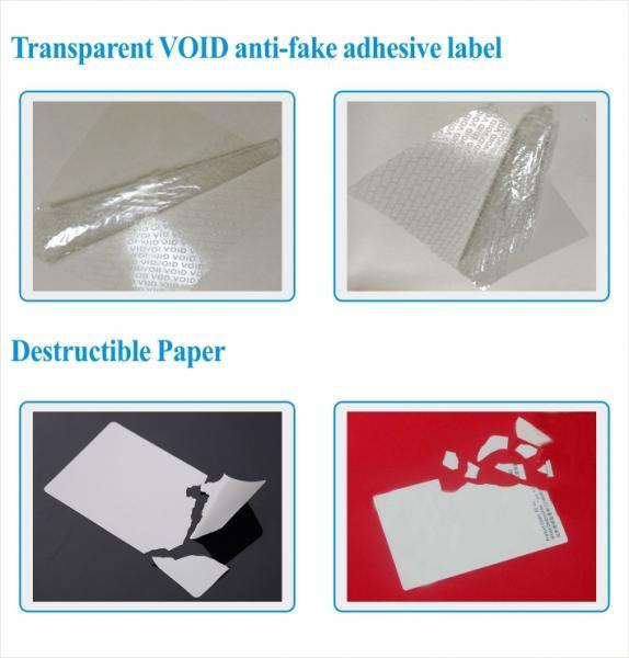 anti-counterfeiting non residue hologram Label material/hologram non transfer label material roll