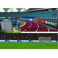 Quality Flexible P16 Outdoor Full Color LED Display Stadium Perimeter Waterproof IP65 for sale