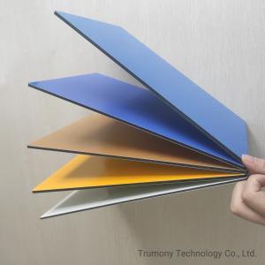 Quality OEM Service Spetra Fireproof Aluminum Composite Panel Decorative Material for sale