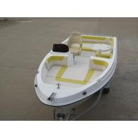 Buy cheap Durable Foldable Table Fiberglass Fishing Boats For Relax , Fun , Tourist from Wholesalers