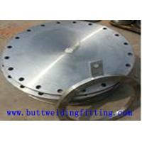 1.4410 A182 F55 Inconel Alloy Steel Spectacle Blind Flange DN25 DN100