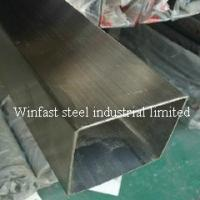 China OD 6mm - 660mm Stainless Steel Welded Pipe Square Cold Drawing 300 Series on sale