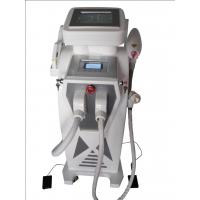 Quality E-light IPL Hair Removal ND Yag Laser Machine For Color Tatoo Removal for sale