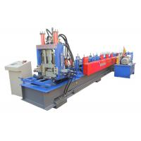 Quality Fully Automatic C&Z Purlin Forming Machine Interchangeable Size 11000*1150*1510mm for sale