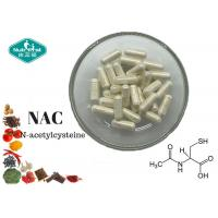 Quality Amino Acid NAC N - Acetyl Cysteine 500 Mg Capsule With Antioxidant Properties for sale