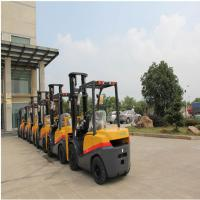 Quality Compact FD35 Diesel Powered Forklift Truck 3500kg Capacity 1070mm Fork Length for sale