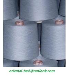 Quality 100% viscose 100% polyeter 100% cotton or blended  melange yarn for sale