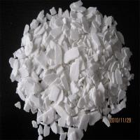 China industrial grade calcium chloride anhydrous powder 94-97%  for oilfield on sale