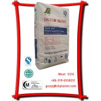 China E516 dihydrate calcium sulfate food grade application on sale