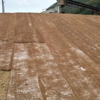 China Coconut Turf Reinforcement Mat (TRM) Erosion Control Blanket ( ECB) For slope protection to reinforce the root system on sale