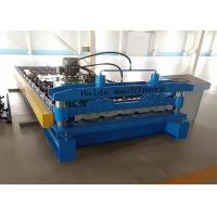 Quality 1000mm Galvanized Metal Roof Panel Roll Forming Machine 50Hz PLC Control for sale