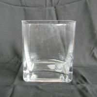 China High-quality electric furnace square glass vase, various sizes are available on sale