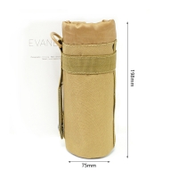China Custom Travel Protective Waterproof Oxford Glass Water Bottle Sleeve on sale