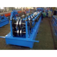 Quality 15-20 MPa Hydraulic Pressure C Z Purlins Rolling Machine With Chain Transmission for sale