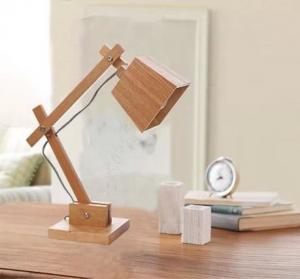 Quality Elegant wood design LED table light table lamp for sale