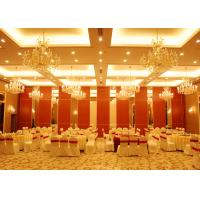 Conference Room Folding Partition Walls Customers Own Material Finish