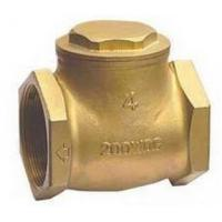 Single Sloping Door Swing Silent Check Valve Screwed Female By Brass Body