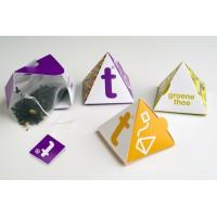 Buy cheap Small Tea packaging bag, pyramid shaped tea bags, Heat Seal, Moisture Proof from wholesalers
