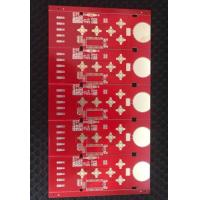 China ENIG TG180 4 Layer PCB Board Red Soldermask PCB Fabrication Service on sale