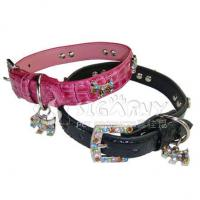 Quality Crystal Dog Collar for sale