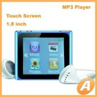 Quality 1.8 inch Ipod Nano 6th Mp4 Player with Touch Screen for sale