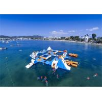 Quality Professional Huge Inflatable Water Park / Inflatable Sea Water Park For Event for sale