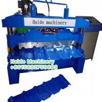 Buy cheap 1000Ibr trapezoidal Color Steel Roll Forming Machine 15 Rows Of Rollers 5.5kw from wholesalers