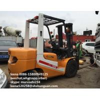 Quality Japanese Made Used Diesel Forklift Truck 3ton Tcm Diesel Forklift Truck for sale