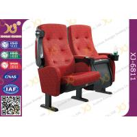 Quality Metal Frame Full Rocking Auditorium Seating , Customized Church Seats for sale