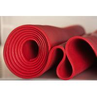 China Red Solid Platinum Cured Silicone Sheet Textured Finish For Food Processing Industries on sale