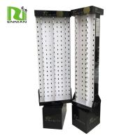 Quality Cardboard Display Stand Pop Display Shelf With 2 Sides Can Hold 80pcs Sunglasses for sale