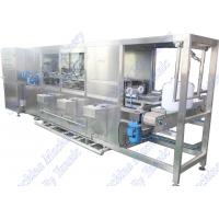 Quality Bottled 5 Gallon Mineral Water Filling Machine 18.9L 300BPH Bottom Support Type for sale