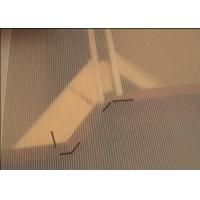 China Clear Rigid Fluted Polypropylene Sheets For Templating Countertops on sale