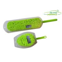 Quality Custom Changeable Head Chenille Car Washing Brush with PP handle for sale