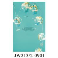 Quality Blue Sky Printed Tissue Paper Balloon Lanterns 13 X 22 Cm For For Baby Showers for sale