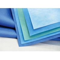 Quality 60GSM PP SMMS Non Woven Cotton Fabric For Surgical Gown for sale