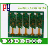 Quality Golden Triangle Rigid Flex PCB 2 Layer 4MIL Hole Size HASL Surface Treatment for sale