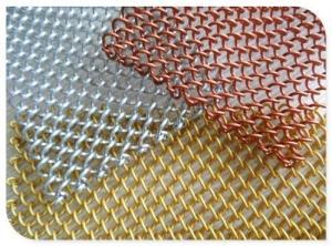 China Decorative Aluminum 2mm Metal Mesh Curtain on sale