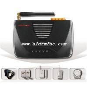 China GSM burglar alarm system with audio message recording on sale