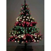 China Wholesale Chrismas Tree W/Lighted Flower,Artificial Flower on sale