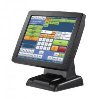 Quality Stand High Resolution Retail Point Of Sale Systems With Black Barcode Scanner for sale