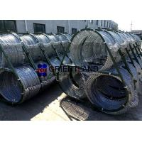 China Triple Standard Concertina Wire Fence 75m Military Concertina Coil Fencing on sale