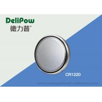 China Lithium 3V Button Cell Battery CR1220 With Wide Rang Temperature Adaptability on sale