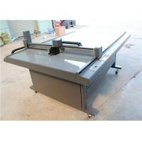 Buy cheap CNC Oscillating Knife Cloth Cutting Machine , Fabric Sample Cutter 1000 Mm/S from wholesalers