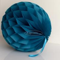 Quality Peacock Tissue Paper Honeycomb Balls Pom Poms For Hanging for sale