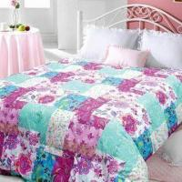 Quality Down Quilt with Pigment Printed Feather, Measures 104 x 88-inch, Made of 233 TC and 100% Cotton for sale